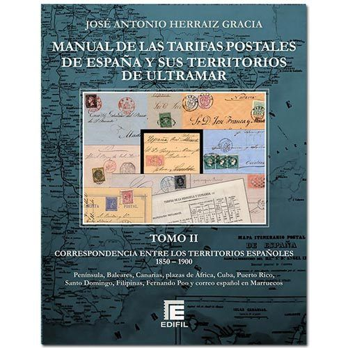 MANUAL TARIFAS POSTALES de España y Ultramar. TOMOII MFC0001i_tpEdifil