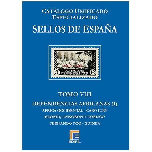 Catalogo 2018 TOMO VIII ESPECIALIZADO DEPENDENCIAS AFRICANAS I.. MFC0001g_TOMOVIII2018